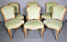 How To Get The Restoration Hardware Look At Kaminski: Mid 18th Century  French Side Chairs