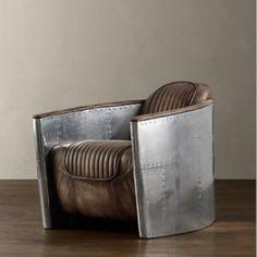 Restoration Hardwear Pilots chair.. bad ass :)