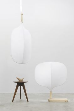 CHIMNEY - DONG HYUN KIM Floor lamp, hanging lamp, white minimalist lamps