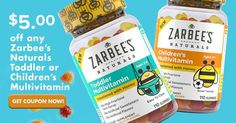 [ad] I love that Zarbee's Naturals Kids Vitamins are free of artificial flavors colors sweeteners and are gluten free! Save $5 now on any Toddler or Children's multivitamin at Walmart now with this coupon: #beeyuckfree http://cbi.as/4fs5-