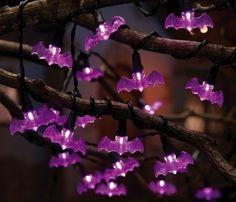 Purple Bat Lights
