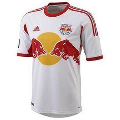 bc9bbb9b48a NEW YORK RED BULLS Adidas Home Shirt 2013 14 NEW XL Soccer Jersey MLS