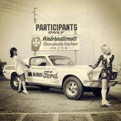 Don Nicholson 1968 Cobra Jet Mustang 68 Mustang Fastback, 68 Ford Mustang, Mustang Girl, Ford Gt, Ford Mustangs, Grid Girls, Bicicletas Raleigh, Vintage Mustang, Pony Car