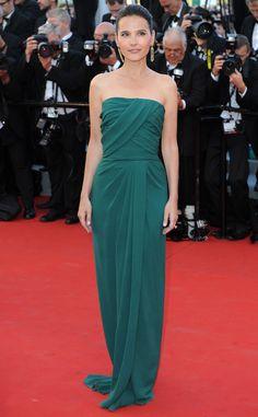 2012 Cannes Film Festival: Virginie Ledoyen in Elie Saab