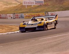 Mark Donohue - Porsche 917/30 TC - Roger Penske Ent., Inc. - 16th Annual Los Angeles Times Grand Prix And International Race of Champions - Can-Am Riverside - 1973 Canadian-American Challenge Cup, round 8