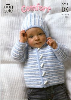 Baby Knitting Patterns Baby Knitting Patterns FREE UK ddelivery on orders over Baby Knitting Patterns, Baby Cardigan Knitting Pattern Free, Knitting For Kids, Baby Patterns, Free Knitting, Baby Boy Cardigan, Knitted Baby Cardigan, Baby Pullover, Knitted Baby Clothes