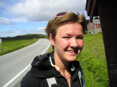 Cycling along the scenic road #Kystriksveien.  Photo: Andy Cotter www.kystriksveien.no #Helgeland #Namdalen #Northern Norway