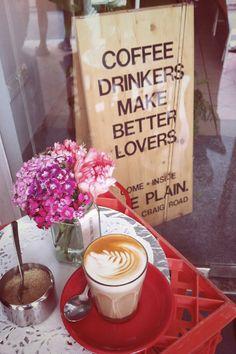 coffee drinkers...