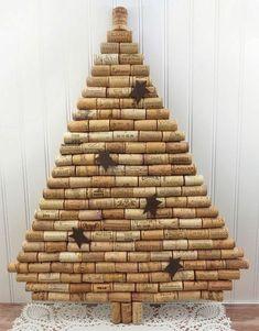 Page not found - Pintagram Online Wine Cork Art, Wine Cork Crafts, Bottle Crafts, Wine Corks, Cork Christmas Trees, Christmas Diy, Christmas Ornaments, Christmas Projects, Christmas Crafts