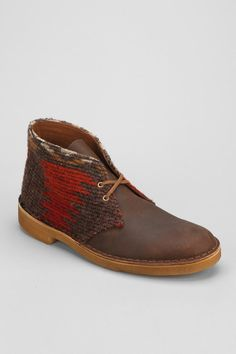 Clarks x Woolrich Collaboration Desert Boot.