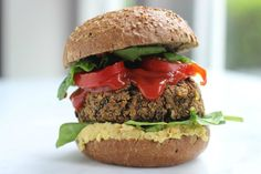 I Love Health | Black Bean Burger  | http://www.ilovehealth.nl