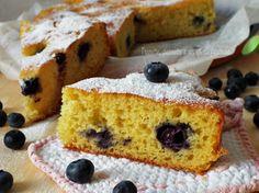 Torta margherita con mirtilli...questa Torta e buonssima di un bel colore giallo, volete sapere il perchè!?....
