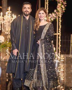 Hamza Ali Abbasi and Naimal Khawar Stunning Clicks from Weddings Function