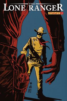 The Forgotten Coward Of Abilene ___Written by Ande Parks. Art by Esteve Polls. Cover by Francesco Francavilla , The Story . The Lone Ranger and Tonto head back to Abilene, where the town's respecte Comic Book Artists, Comic Books Art, Comic Art, Jean Giraud, Western Comics, Western Art, Westerns, Serpieri, The Lone Ranger