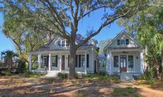 modeled after cottage of the year.  Palmetto bluff.