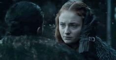 Jon & Sansa - Game of thrones