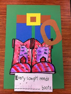 goes with every cowgirl bk. - writing.... every cowgirl(boy) needs ________ boots