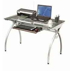 Techni Mobili Glass Top Computer Desk, Clear Techni Mobili,http://www.amazon.com/dp/B001K92F30/ref=cm_sw_r_pi_dp_3DYstb1SRYZNQAC6