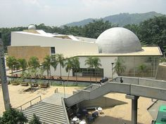 Planetarium of Medellín Cultural Capital, Capital City, Innovative City, Train System, New Museum, The Locals, South America, The Neighbourhood, Modern Architecture