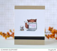 mama elephant | design blog: INTRODUCING: Blogging Buddies | you nake me smile