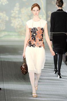 Tory Burch - FW 2012 - Garden Party dress!