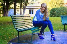 The Vanity Secret: Today's blue
