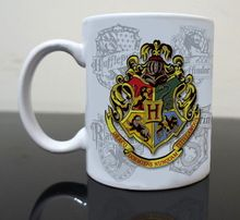 Harry potter poudlard café tasses imprimé voyage nouveauté anniversaire de cadeau de thé tasse décalque tasses Parfait Cadeaux boisson tasse(China (Mainland))