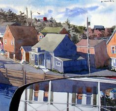Dewitt Hardy maine watercolor artist