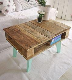 Vintage Tische - Stilmöbel Upcycling Couchtisch Shabby - ein Designerstück von…
