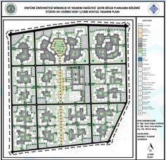 Kentsel Tasarım Site Analysis, Parking Design, Ps, The Neighbourhood, Urban, How To Plan, Architecture, Arquitetura, The Neighborhood