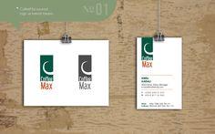 CoffeeMax kurumsal kimlik tasarımı