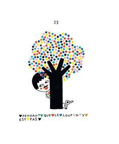 Claire Brun - une histoire de George - illustration - livre enfants