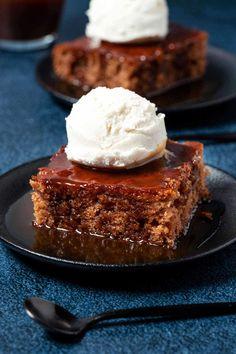 Vegan Snacks, Vegan Desserts, Vegan Food, Dairy Free Margarine, African Dessert, Vegan Pudding, Vegan Whipped Cream, British Desserts, Toffee Sauce
