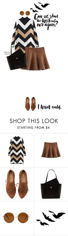 """""""Untitled #1531"""" by contrary-to-ordinary ❤ liked on Polyvore featuring WithChic, Ted Baker, Forever 21 and beautifulhalo"""