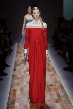Valentino at Paris Fashion Week Fall 2013 - StyleBistro