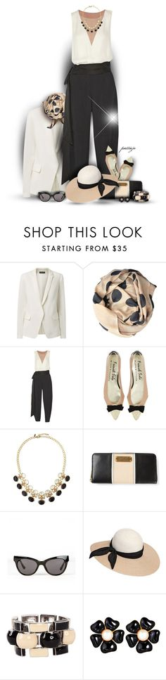 """""""Ready, Set, Jumpsuit!"""" by rockreborn ❤ liked on Polyvore featuring Beck Sonder Gaard, Lanvin, Emily & Ashley, Marc by Marc Jacobs, Linda Farrow, Eugenia Kim, J.W. Anderson and Ciner"""
