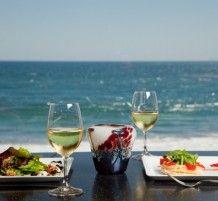 The ocean view at the OceanView Bar & Grill at the Historic Hotel Laguna in Laguna Beach, CA www.ovbarandgrill.com