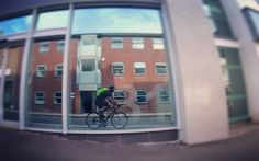 'Reflective'  #AATR #allabouttheride #Cycling #bicycling #lovecycling #commute #cycletowork #urban #city #roadcycling #roadbike #reflection #reflective #windows #mirrorwindows #GoPro #goprophotography #cycletography #fromwhereiride