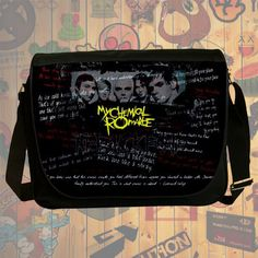 NEW Custom : My Chemical Romance Messenger School Laptop Bag By Gift Ideas #09