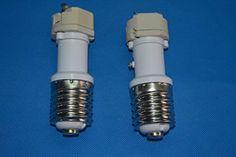 Jack-Store 5 PCS E40-G12 Base LED Light Lamp Bulbs Socket Adapter Converter PBT Lampholder - Brought to you by Avarsha.com