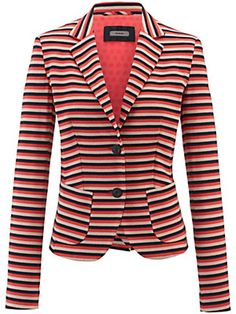 Friani jersey blazer stripes multi