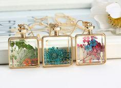 Square Pendants Necklace Jewelry