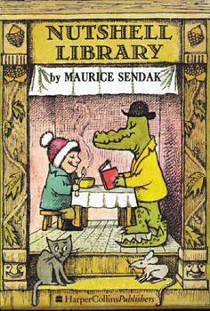 Nutshell Library by Maurice Sendak: One of our must-have poetry books for kids.