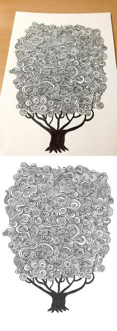Cloud Tree on Behance