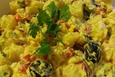 Retete Culinare - Salata de cartofi Risotto, Chicken, Meat, Ethnic Recipes, Food, Essen, Meals, Yemek, Eten