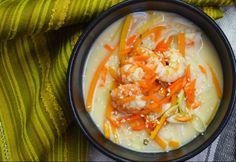 Kókusztejes garnélaleves rizstésztával