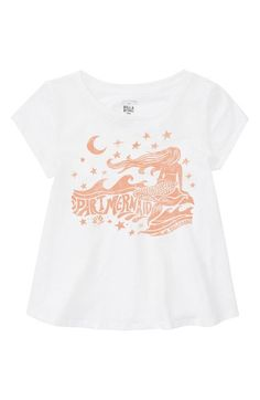 Billabong Part Mermaid Graphic Tee (Little Girls & Big Girls) available at #Nordstrom