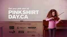 Get your pink on! #pinkshirtday