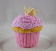 Disney inspired Princess Aurora Cupcake for American Girl Doll Sleeping Beauty on Etsy, $4.25
