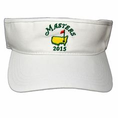 2015 Dated Masters Low Rider Visor White. MMO Golf · Masters Hats and Visors 665b24a62cc3